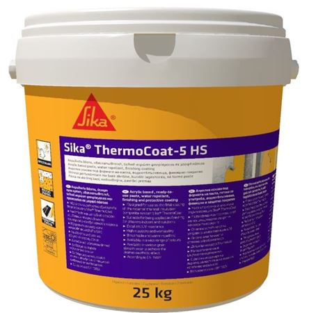Sika ThermoCoat-5 HS - λευκό, fine  (585977)