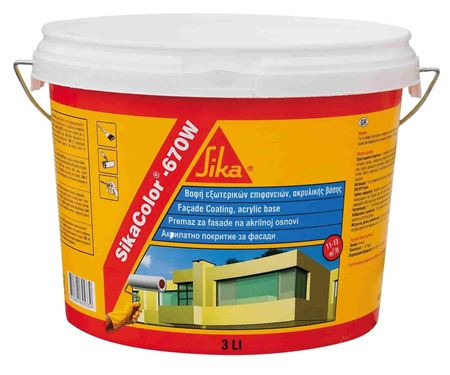 SikaColor-670 W 10lt (159973)